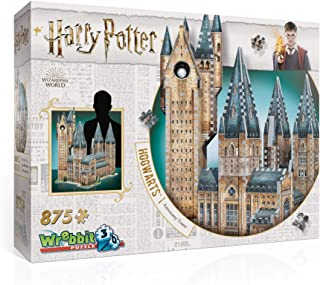 Hogwarts Astronomy Tower 3D Jigsaw Puzzle (875 pieces)