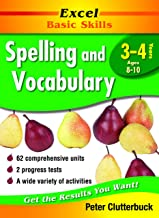 Excel Basic Skills Workbook: Spelling and Vocabulary Years 3-4