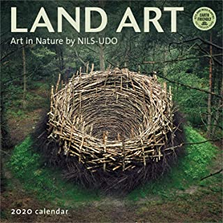Land Art 2020 Wall Calendar: Art in Nature by NILS-UDO