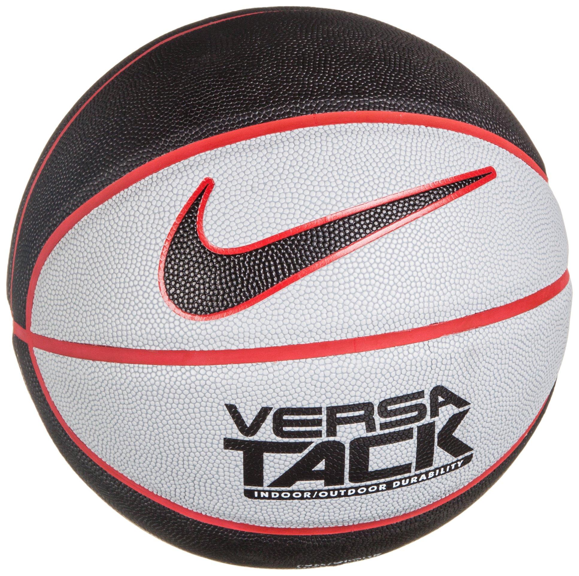 Nike Versa Tack – Balón de baloncesto, color negro/tamaño mediano ...