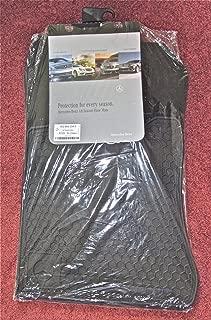 Genuine Mercedes Benz R129 SL All Season Rubber Floor Mat Set Black {90-02}