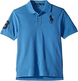 Cotton Mesh Polo Shirt (Big Kids)
