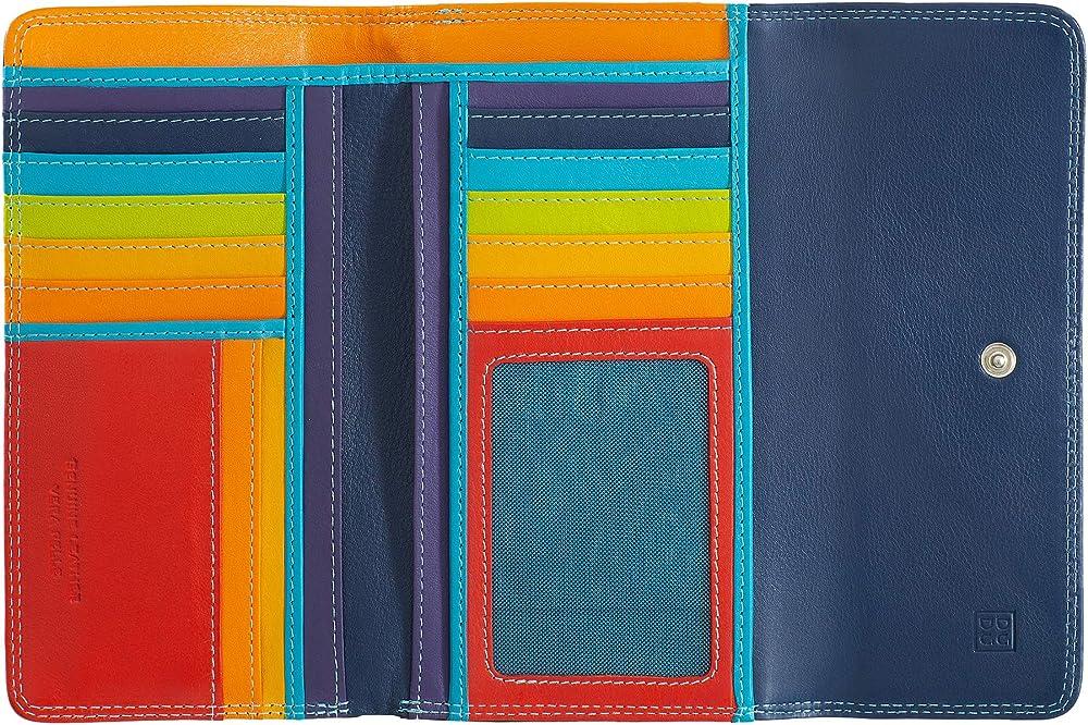 Dudu portafoglio in pelle morbida porta carte di credito con protezione anticlonazione 8031847130041