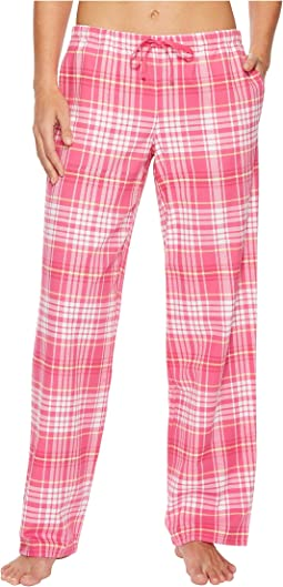 Life is Good - Tropical Pink Plaid Sleep Pant