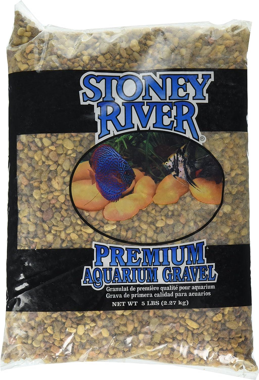 Estes Gravel Products gift AES11505 Este for 5-Pound Walnut mart Aquarium