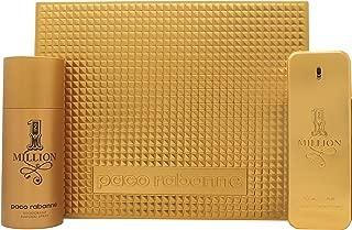 Paco Rabanne 1 Million Gift Set 3.4oz (100ml) EDT + 5.1oz (150ml) Deo Spray
