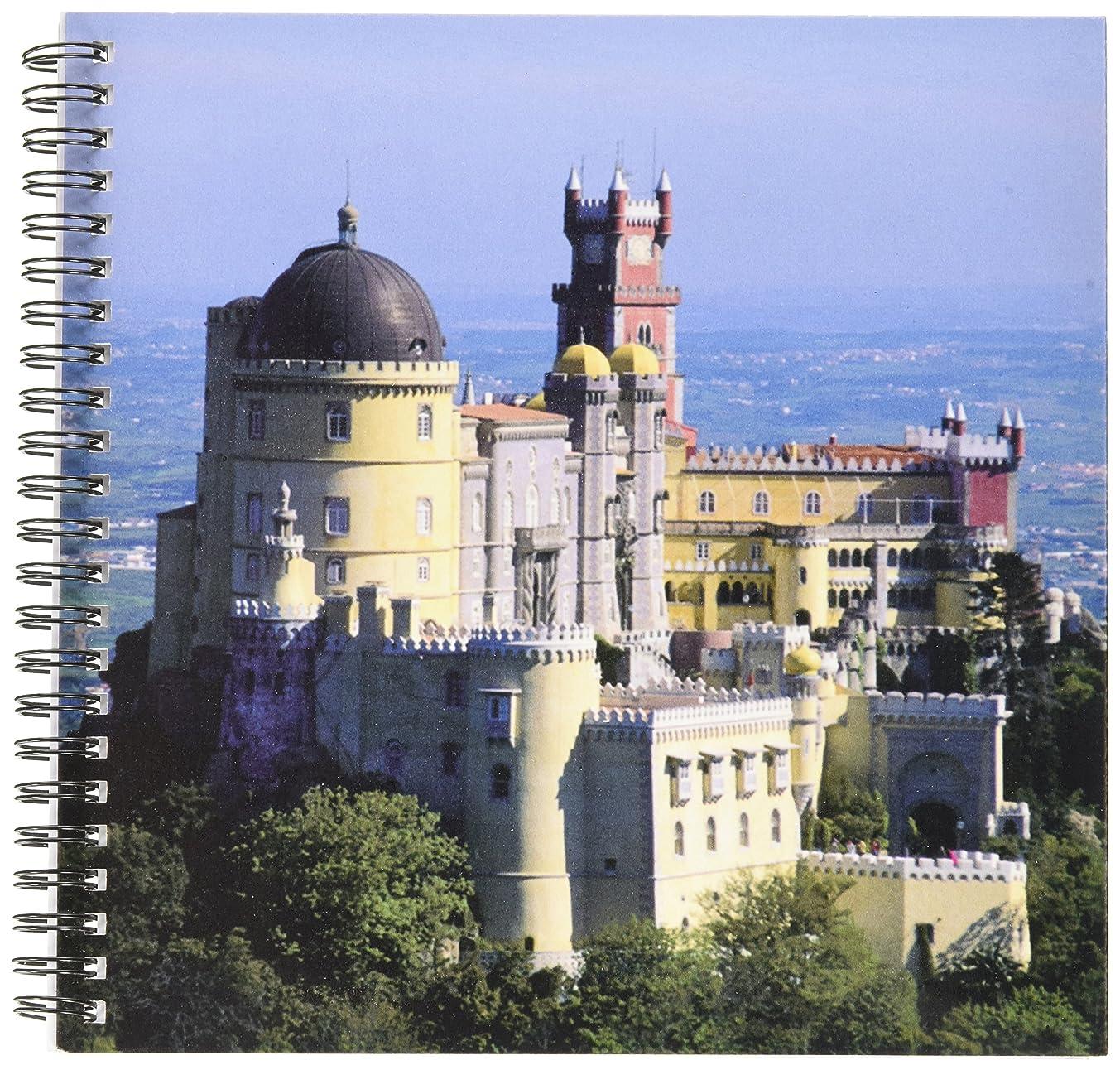 3dRose db_82474_1 Portugal, Sintra, Pena Palace, Serra Da Sintra-Eu23 Ksc0001-Kevin Schafer-Drawing Book, 8 by 8-Inch