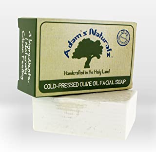 Adam's Naturals Olive Oil Face & Body Soap: Handmade From Only 3 Ingredients