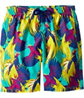 Vilebrequin Kids - Birds of Paradise Swim Trunk (Big Kids)