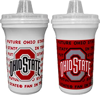 GameDay Novelty NCAA Ohio State Buckyes Sippy Cup Home & Away, 12 oz, 2 Pack