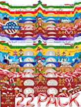 22 Pairs Holiday 3D Glasses - With Rare 3DHeaven Exclusive Styles HOLIDAY TREATS and HOLIDAY TRAINS – 13 Different!