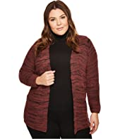 NIC+ZOE - Plus Size Thick and Thin Cardy