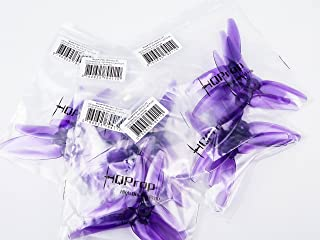 10 pair HQ Prop DP 5x4.3x3 V1S Tri-Blade 3 Blade Propellers Props for FPV Racing purple