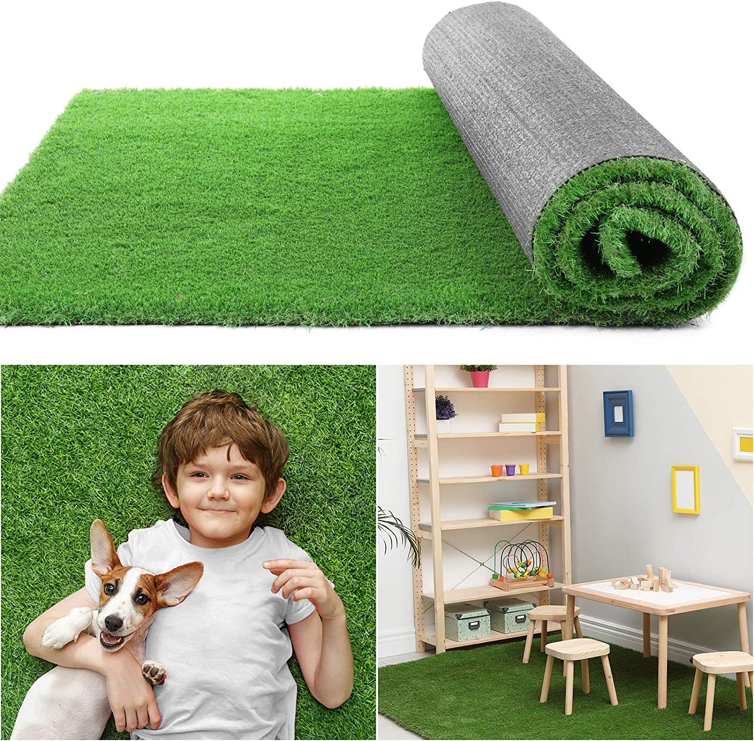 COCOBOO Artificial Grass Rug 世界の人気ブランド 大人気! for Dog 15 Square 3x5 FT Fake