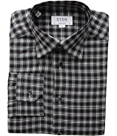 Eton - Contemporary Fit Plaid Flannella Button Down Shirt