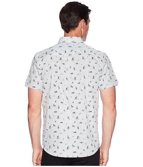 con de Life Sherman Park manga corta Camiseta Ben blanco de estampado en qnTdq8