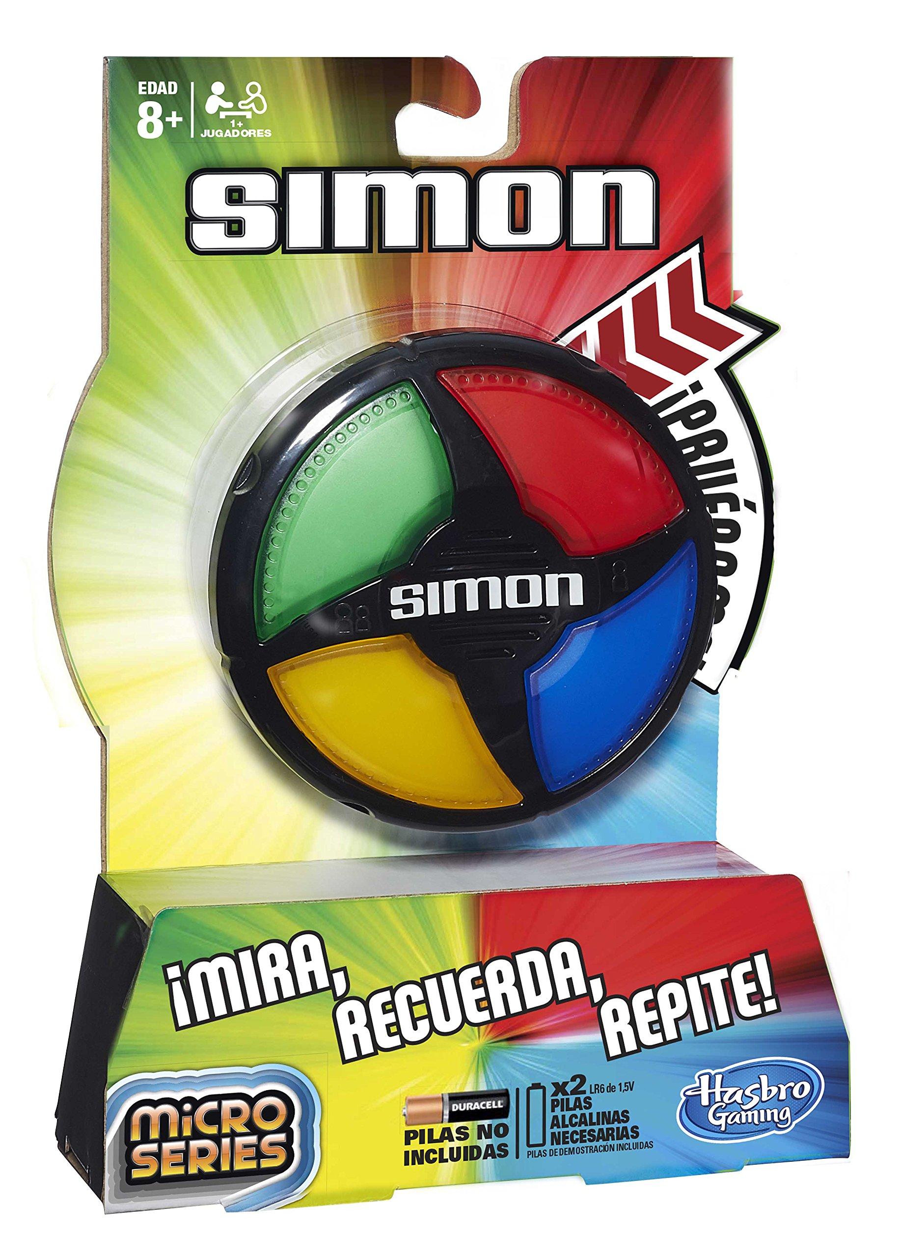 Hasbro Gaming - Simón Micro Series (B0640): Amazon.es: Juguetes y juegos