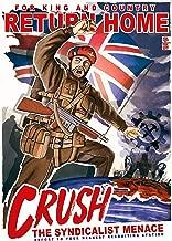 UpCrafts Design WW2 British Great Britain Propaganda Poster - WWII Recruiting Recruitment Memorabilia History Replicas - Military Collectibles Decor (5.8x8.3 inches (A5 Size), Unframed Prints)