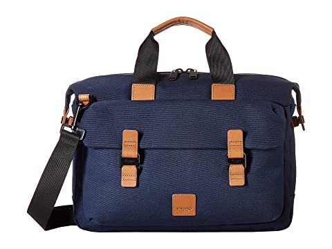 Fulham London KNOMO Topload Brief Tournay Navy v7n5dqw