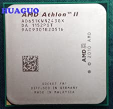 AMD Athlon II X4 651K 3 GHz Quad-Core CPU Processor AD651KWNZ43GX Socket FM1