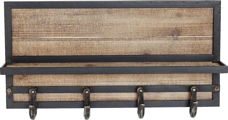 Kare Cottage Garderobe, Holz, Braun, 14 x 61 x 30.5 cm