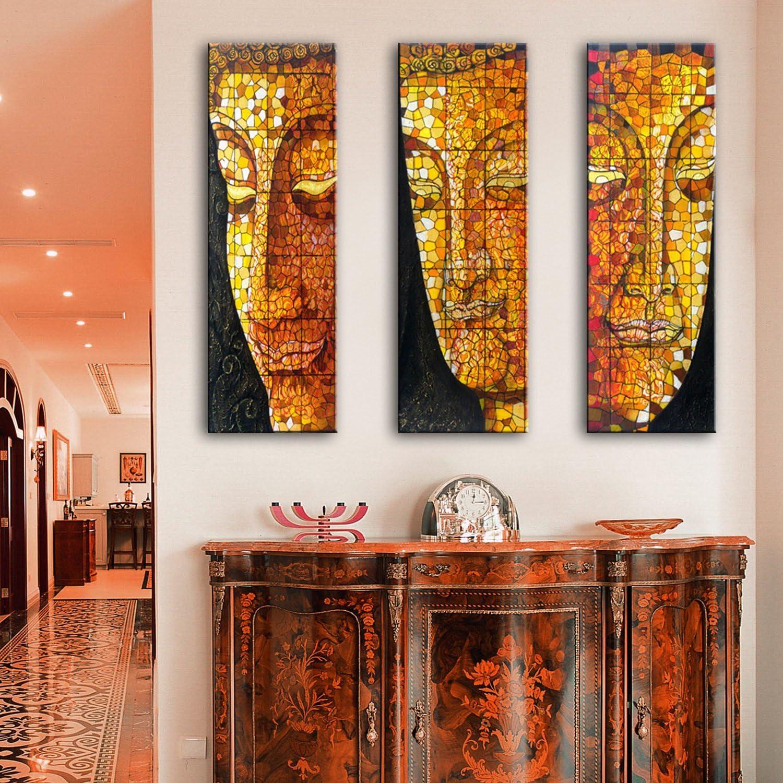 GaoRuiRuiL Buddha Buddha Buddha Gesicht Dekoration Malerei, rahmenlose Gemälde, Wohnzimmer Malerei Malerei, 24  70  3 B07H94QP2J | Verschiedene aktuelle Designs  f4b2b0