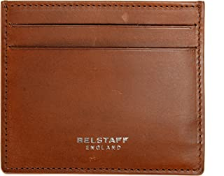 100% Leather Brown Men's Card Case Wallet