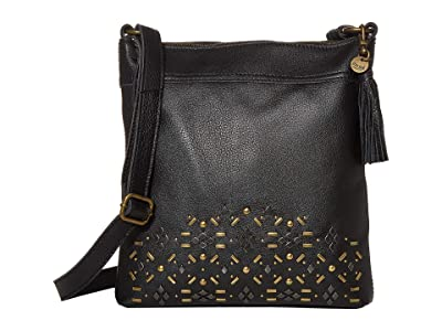 The Sak Ladera Crossbody by The Sak Collective (Black Stud) Handbags