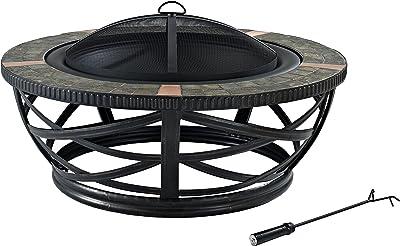 Amazon.com : Outland Firebowl 863 Cypress Outdoor Portable ... on Outland Firebowl 21 Inch id=76751