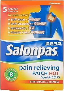 Salonpas Pain Relief Patch, Hot, 5ct