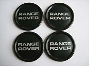 Genuine Range Rover Classic Black Wheel Center Cap Set of 4