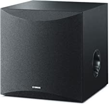 "Yamaha 8"" 100W Powered Subwoofer – Black (NS-SW050BL)"