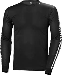 Helly Hansen Men's Lifa Stripe Crew Baselayer Top