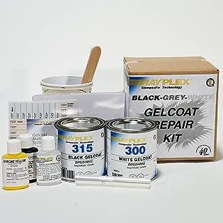 Black Grey Gelcoat Repair Kit