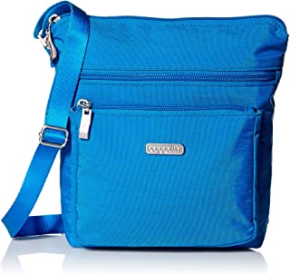 Pocket Crossbody Bag With RFID-Protected Wristlet