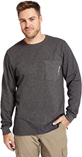 Timberland Base Plate Blended Long-Sleeve T-Shirt (Big/Tall)