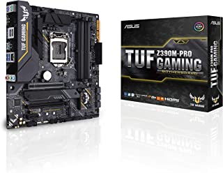 Asus Intel Z390 mATX - Placa base gaming con OptiMem II, Aura Sync RGB iluminación LED, DDR4 4266+ MHz , 32Gbps M.2, Intel Optane memory ready, y USB 3.1 Gen 2.