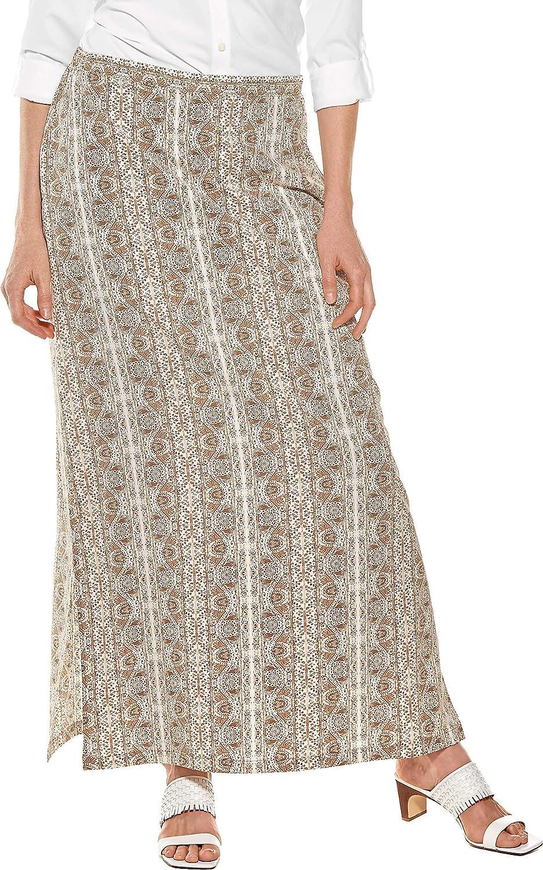 Coolibar UPF 50+ Women's Monte Carlo Maxi Skirt  Sun Predective