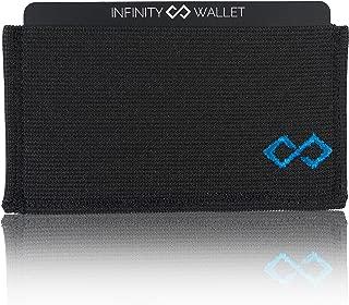 Infinity Wallet- Men's Minimalist Wallet Blue Size: One Size