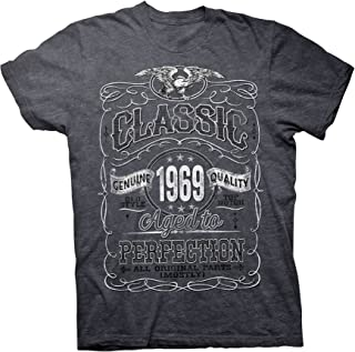 50th Birthday Gift Shirt - Classic 1969 Aged to Perfection