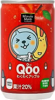 コカ・コーラ ミニッツメイド Qoo クー わくわくアップル 160ml缶×30本