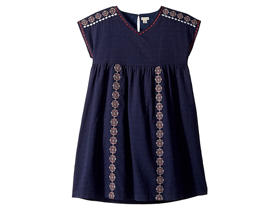 Lucky Brand Kids Sophia Dress (Big Kids) (Black Iris) Girl