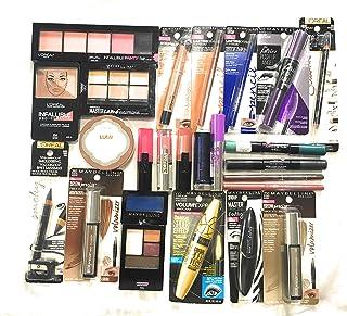 25 Assorted Piece Lot of Name Brand Makeup Wholesale, No Dups