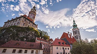 Too Beautiful to Be Real? Cesky Krumlov UNESCO castle and old town in South Bohemia