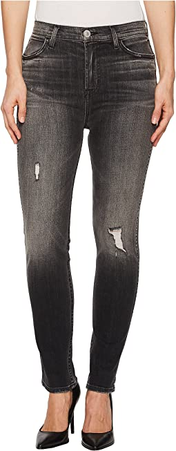 Hudson - Vintage Holly High-Rise Crop Skinny in Jawbreaker