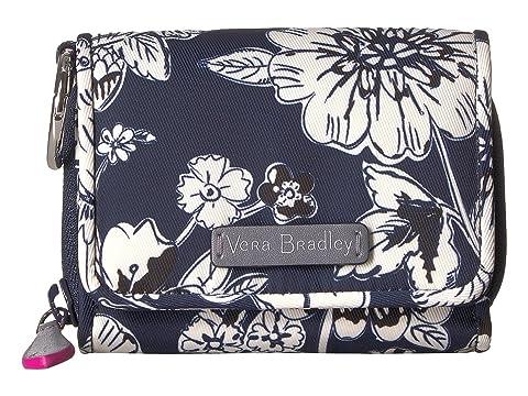 Floral Estuche Midtown Bradley RFID Midnight tarjetas Vera para gwqgnP08