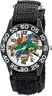 Marvel Kids' W001724 Hulk Analog Display Analog Quartz Black Watch