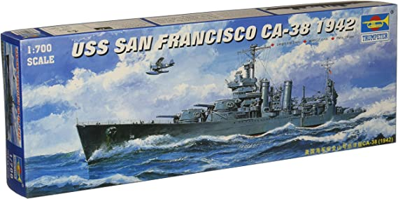 Five Star 1//700 700036 USS Heavy Cruiser San Francisco CA-38 for Trumpeter