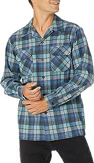 Pendleton Men's Long Sleeve Classic Fit Board Wool Shirt