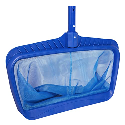 Swimline Professional Heavy Duty Deep Bag Pool Rake, Blue